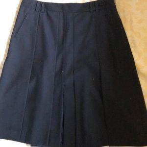Ted Baker black pleated skirt